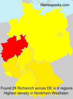 Familiennamen Richterich - Germany