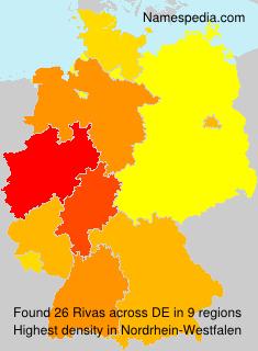 Familiennamen Rivas - Germany