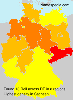 Surname Roil in Germany