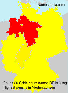 Surname Schleibaum in Germany