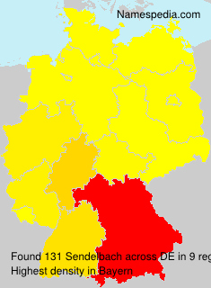 Familiennamen Sendelbach - Germany