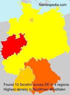 Surname Serafim in Germany