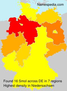 Surname Smol in Germany