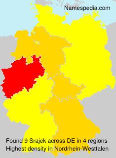 Familiennamen Srajek - Germany