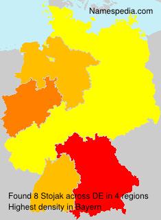 Familiennamen Stojak - Germany