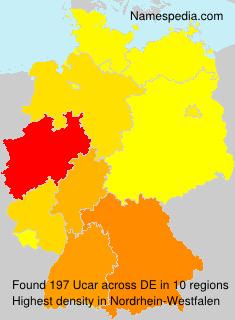 Surname Ucar in Germany
