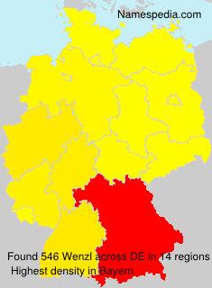Familiennamen Wenzl - Germany