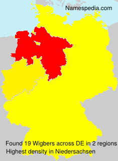 Surname Wigbers in Germany