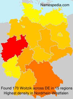 Familiennamen Woitzik - Germany