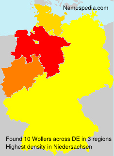 Surname Wollers in Germany