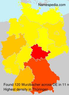 Surname Wurzbacher in Germany