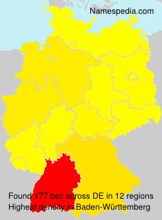 Familiennamen bez - Germany