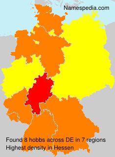 Familiennamen hobbs - Germany