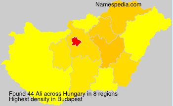 Ali - Hungary