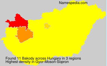 Bakody