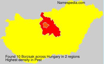 Borzsak