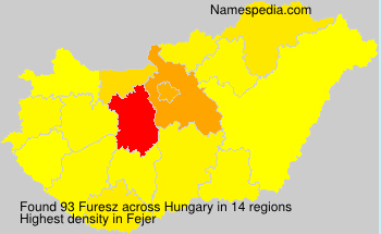 Surname Furesz in Hungary