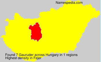 Gauruder