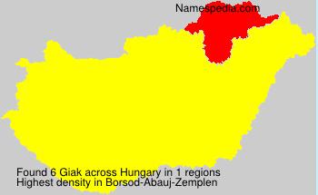 Giak - Names Encyclopedia