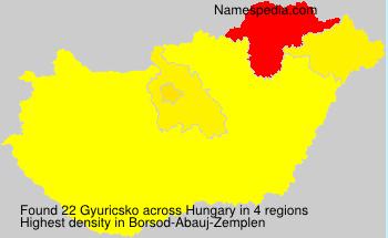 Gyuricsko
