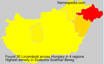 Surname Linzenbold in Hungary