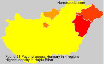 Pazonyi