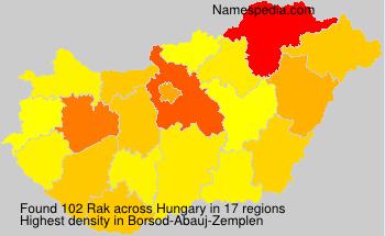 Rak - Hungary