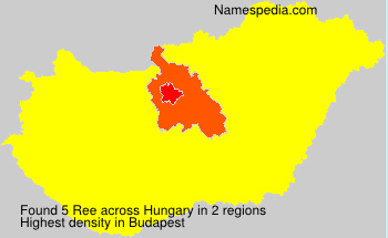 Surname Ree in Hungary