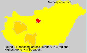 Ronaszegi