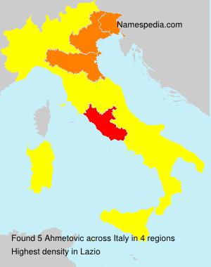 Ahmetovic - Italy