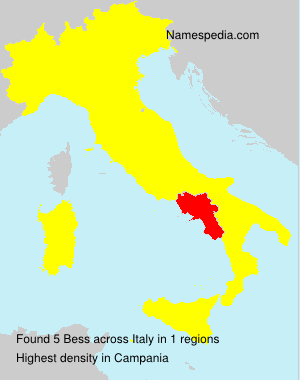Surname Bess in Italy