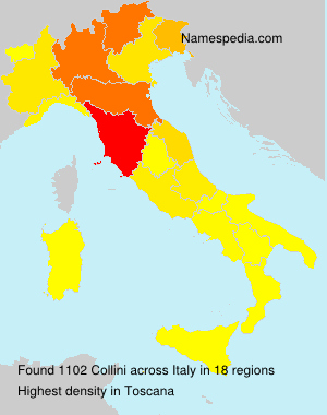 Surname Collini in Italy