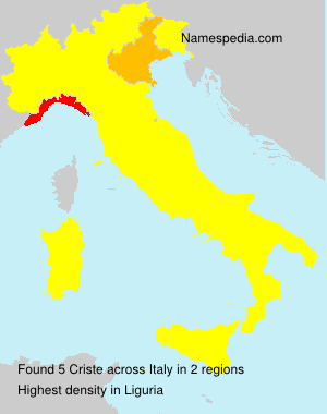 Criste - Italy