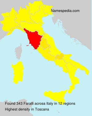 Familiennamen Faralli - Italy