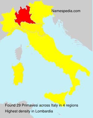 Primavesi - Italy