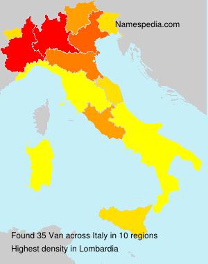 Van - Italy