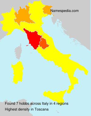 Familiennamen hobbs - Italy