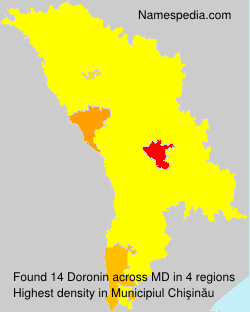 Surname Doronin in Moldova