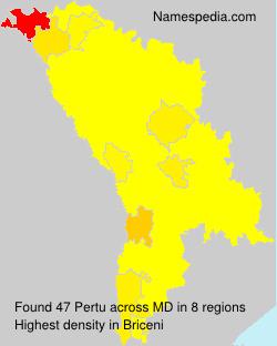 Surname Pertu in Moldova