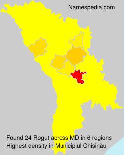 Familiennamen Rogut - Moldova