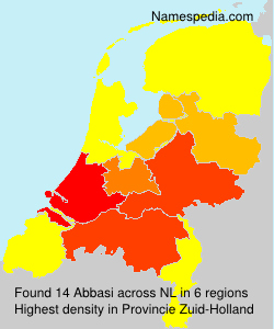 Surname Abbasi in Netherlands