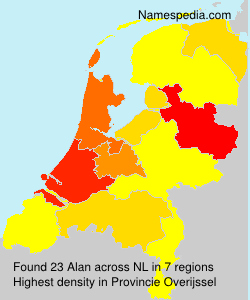 Surname Alan in Netherlands