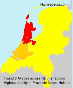 Surname Allebes in Netherlands