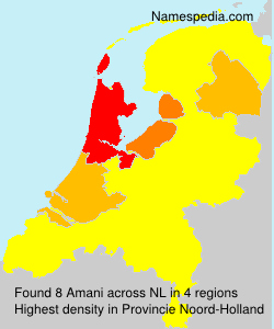 Surname Amani in Netherlands