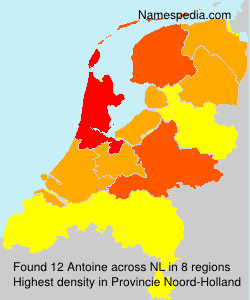 Surname Antoine in Netherlands