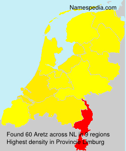Familiennamen Aretz - Netherlands