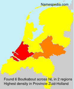 Surname Boutkabout in Netherlands