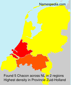 Surname Chacon in Netherlands
