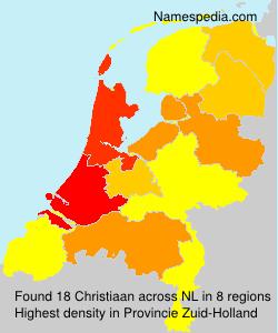 Familiennamen Christiaan - Netherlands