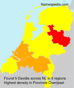 Surname Davidis in Netherlands